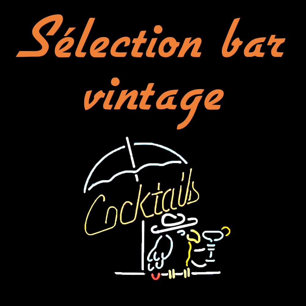 Néon décoratif bar vintage