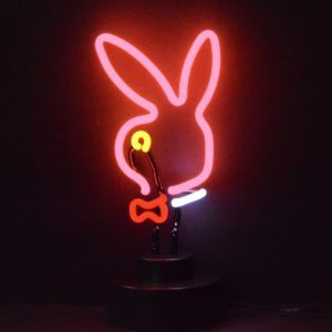 Neon deco - Bunny Head - Art neon design