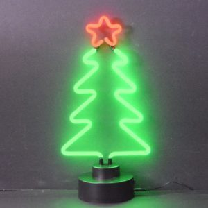 Neon deco - Sapin Noël - Art neon design