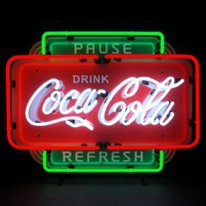 Enseignes neon deco - Coca Cola US - Art neon design