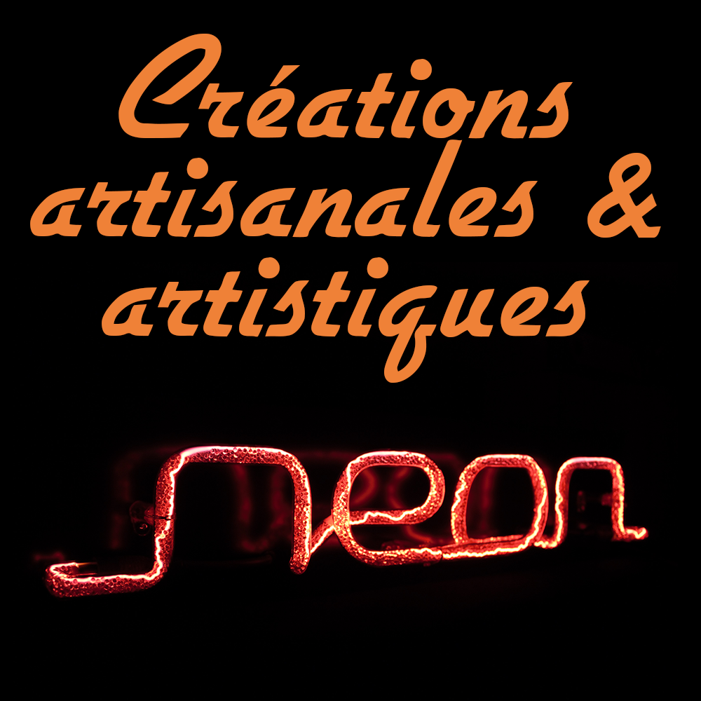 Néon décoratif artisanal