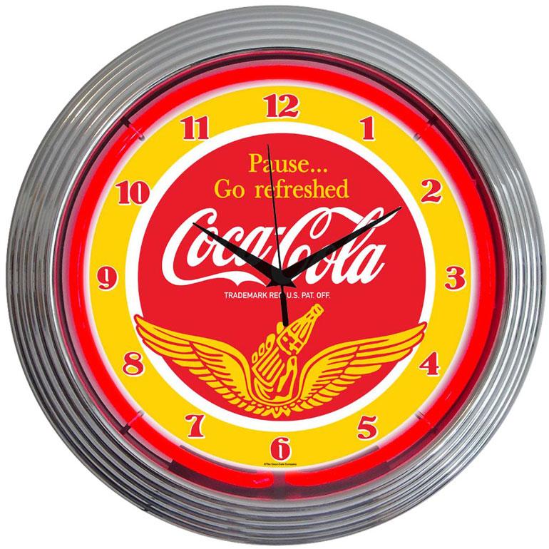 Horloge vintage coca cola