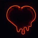 Neon coeur