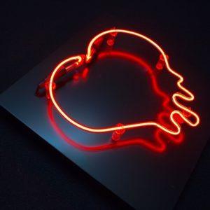 enseigne Coeur rouge